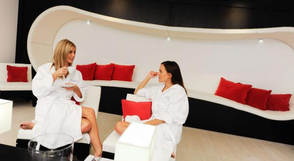 Spa Lounge mit Vitaminbar